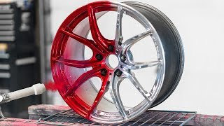 The Most Insane PowderCoat Wheel Color!