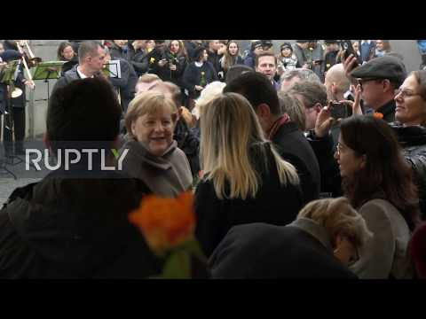 Germany: Merkel and Steinmeier mark 30th anniversary since fall of Berlin Wall