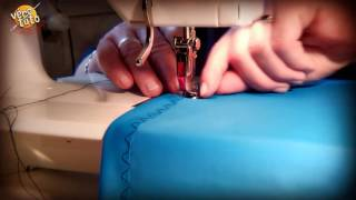 tuto ourlet tissu extensible