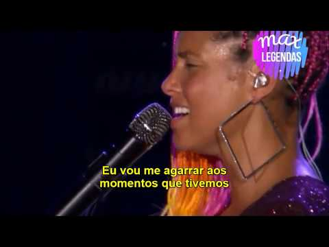Rock in Rio  Alicia Keys  Try Sleeping with a Broken Heart Legendado