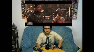 Reaction to Honest Trailers Black Panther