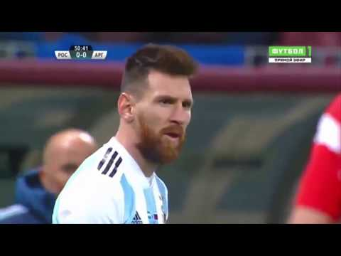 "Argentina Vs Russia 1-0 Full Match Highlight ""HD"""