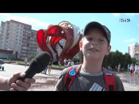 Перевернутый танк. Наро-Фоминск. 02.06.2016
