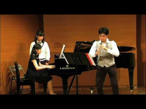 H.ハーティ 3つの小品 Harty - 3 miniatures for oboe and piano / Tohru KIHARA Ob. Natsumi HIRAMATSU Pf.