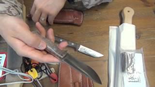 便利そうで格好いいアメリカ製ナイフ用ベルトシース thumbnail