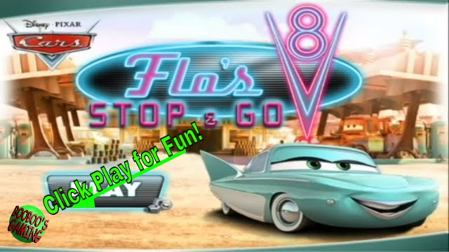 Disney Cars Flo S Stop And Go Game Level 1 Free Online
