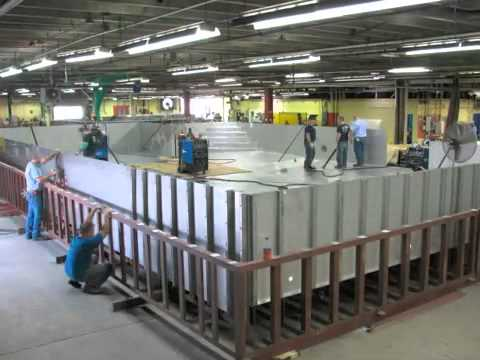 Stainless Steel Pool Construction - Precision Aquatics Group
