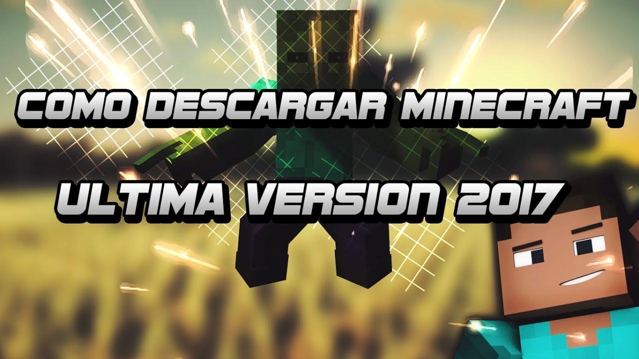 descargar minecraft para pc ultima version 2018