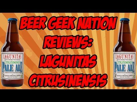 Lagunitas CitruSinensis Pale Ale | Beer Geek Nation Craft Beer Reviews