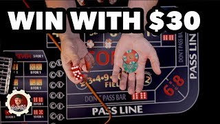 How to Win at Craps...Safe & Slow - Craps Betting Strategy