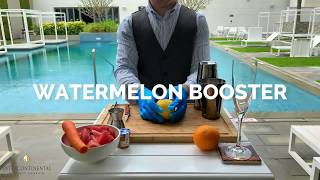 First of our healthy fresh mocktails series | InterContinental Regency Hotel