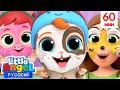 Учим Язык Животных! 🦁🐷🐰| Обучающие Мультики и Игры Для Детей | Little Angel Русский видео