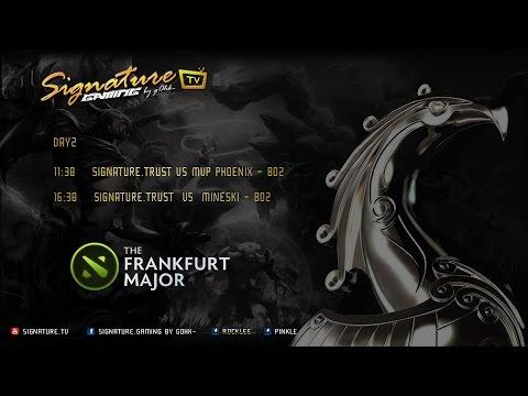 Signature.Trust vs MVP.Phoenix - The Frankfurt Major 2015 - Caster Pinkle