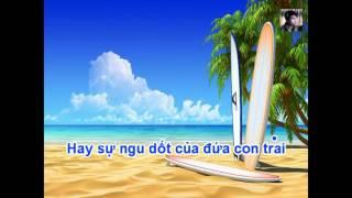 Karaoke Con Nợ Mẹ - Trịnh Đình Quang HD