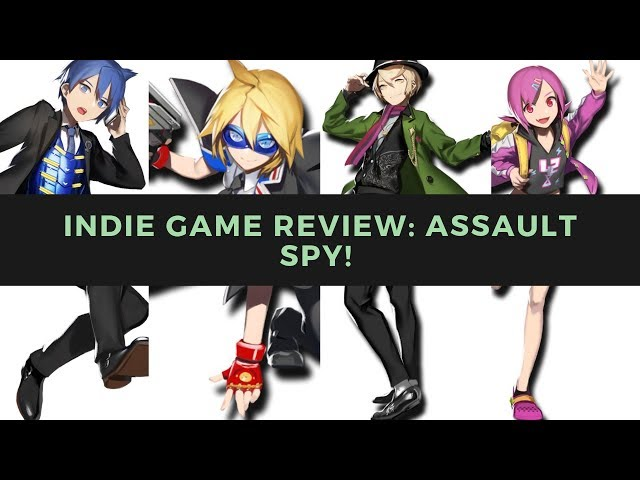 Indie Game Review   Assault Spy! Bringing down some Robots