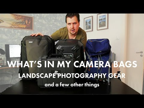 Landscape Photography Gear | What's In My Camera Bag