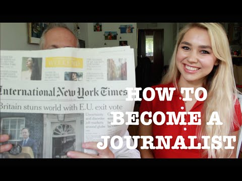 HOW TO BECOME A JOURNALIST: STUDY, JOB OPPORTUNITIES, HUSTLE | Nicole Deli
