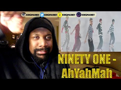 (KAZAKHSTAN)NINETY ONE - AhYahMah (Official Music Video)REACTION!!
