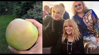 Алла Пугачева гуляет в Юрмале и Большой урожай яблок в Замке