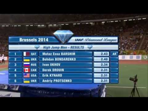 Brussels Diamond League 2014 High jump - Full Competition