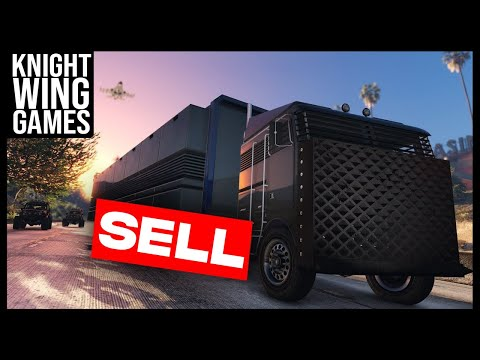 HOW TO SELL YOUR MOBILE OPERATIONS CENTER IN GTA 5 ONLINE