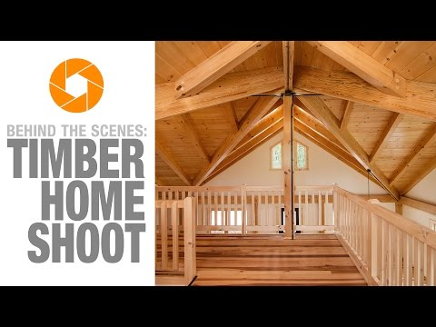 Behind the Scenes Photo Shoot with Timberhaven Log and Timber Homes