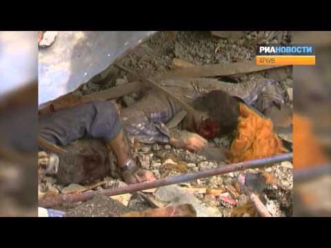 Последствия землетрясения в Армении 7 декабря 1988 года  Архивные кадры