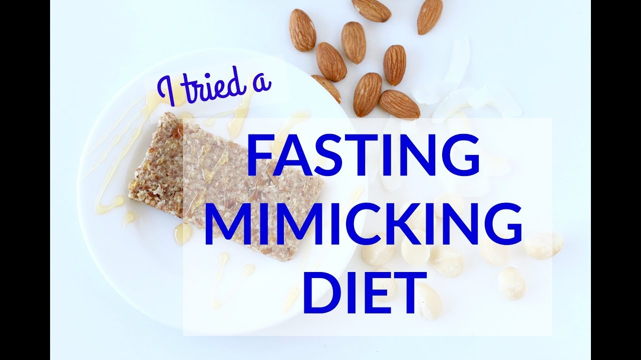 The Fasting Mimicking Diet from Dr  Valter Longo