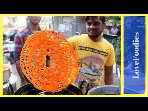 World's BIG Jalebi Making Crispy Crunchy Juicy Jalebi without yeast Indian Street Food in 2018