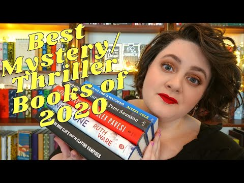 My Favorite Mystery, Thriller, & Horror Books of 2020