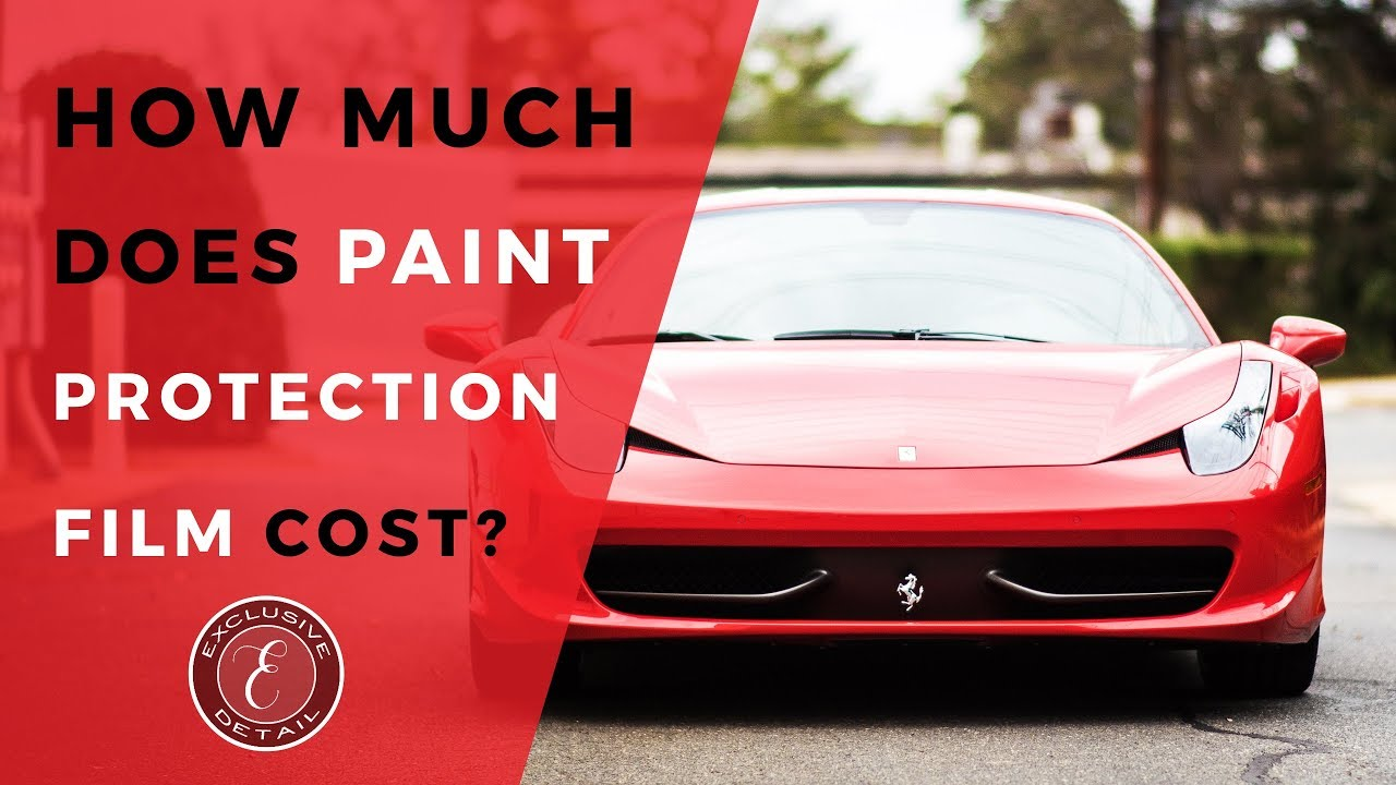 How Much Does a Paint Protection Film Installation Cost?