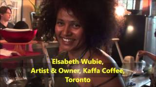Interview  Wiith Elsabeth  Wubie(Artist And The Owner of Kefa Buna Restotant  አርቲስት እና የከፋ የባህላዊ ቡና