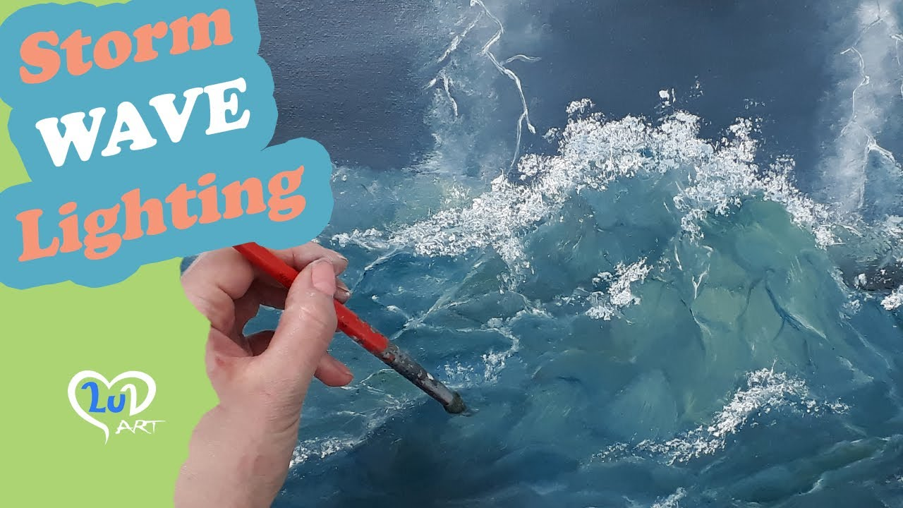 How to paint realistic waves