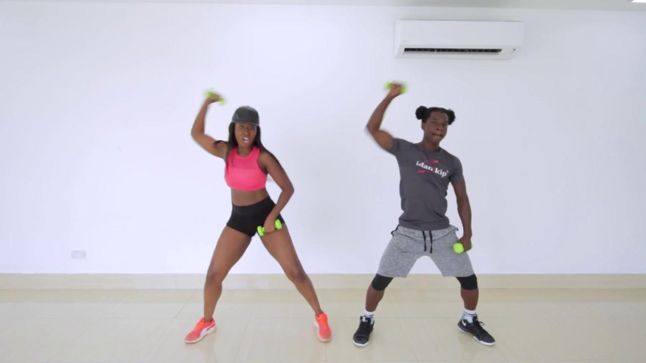Afrobeats Dance Workout - Legbegbe by Mr Real Ft. Idowest