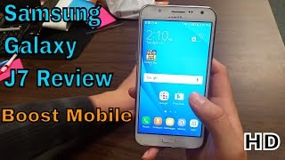 Samsung Galaxy J7 Review (Boost Mobile) HD