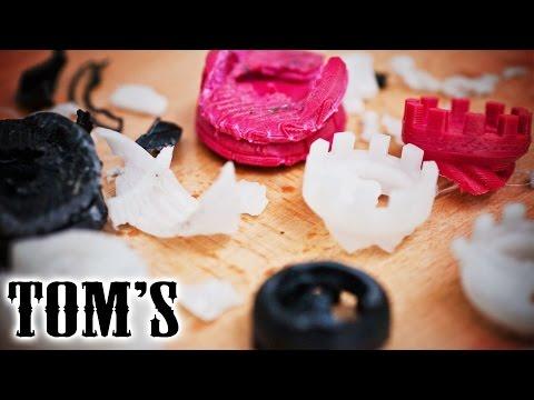3D printing guides - Plastic destruction