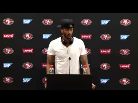 49ers Vs Broncos Postgame Press Conference - Colin Kaepernick