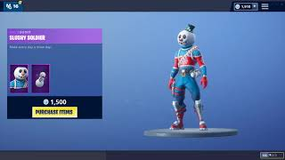 "How To Get New ""Slushy Soldier"" Skin In Fortnite For FREE (Snowman Skin)"