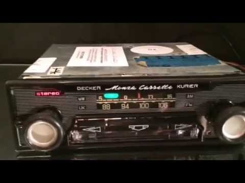 Chromelondon.com BMW BAVARIA CR OEM BY BECKER MONZA RADIO CASSETTE WITH STEREO AND MP3