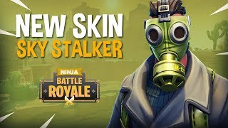 New Skin Sky Stalker!! - Fortnite Battle Royale Gameplay - Ninja & Hysteria