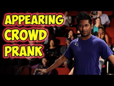 Appearing Crowd Prank