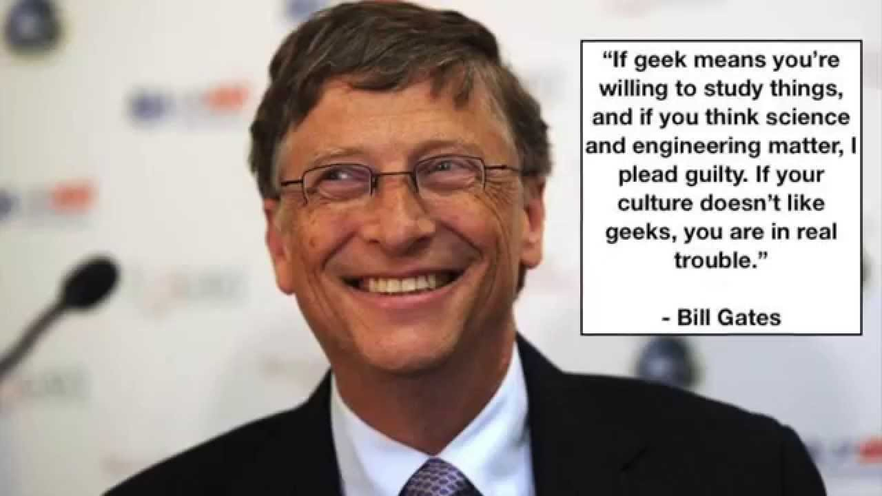 Quotes About Critical Thinking Fair Bill Gates 4 Quotes About Success And Critical Thinking  Youtube