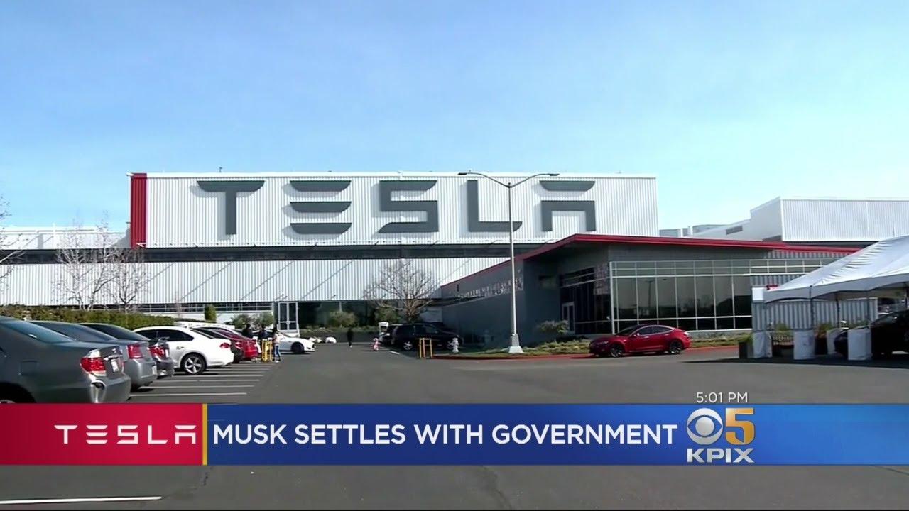 Elon Musk, Tesla Agree To $40 Million Fine To Settle SEC Lawsuit