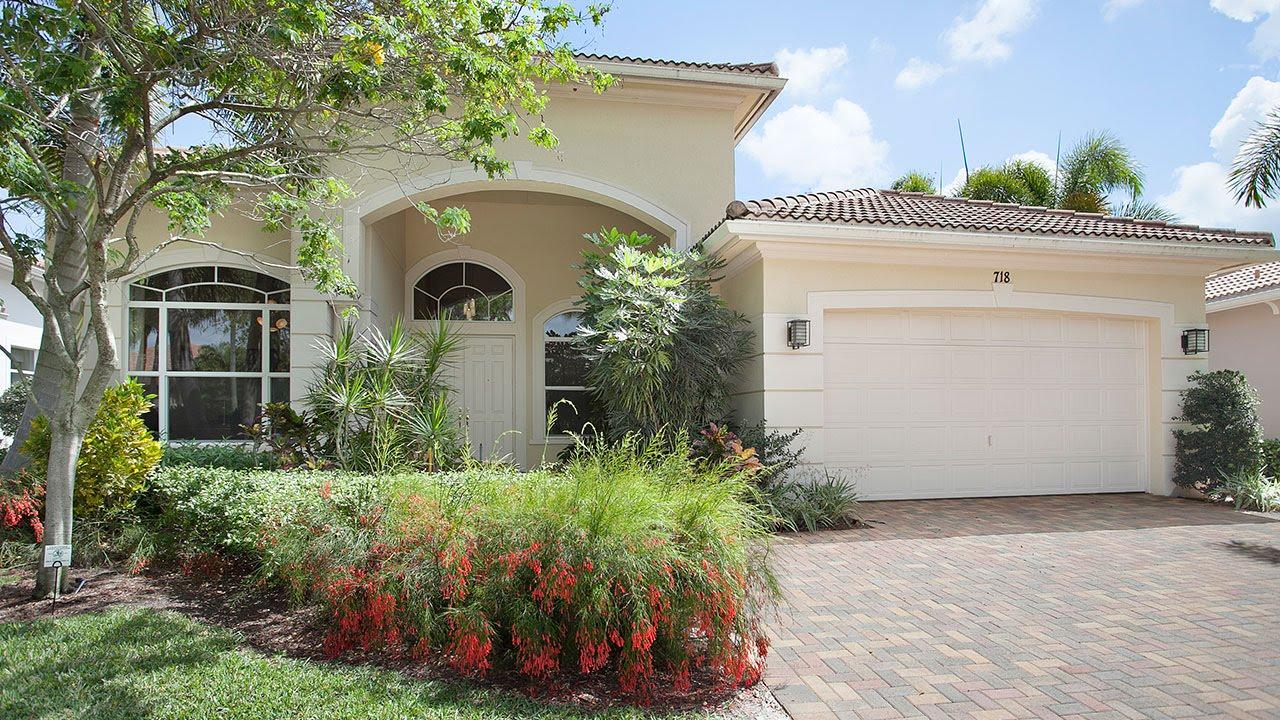 718 Cote Azure Drive Palm Beach Gardens FL 33410 - YouTube