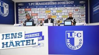 Pressekonferenz 1. FC Magdeburg gegen SSV Jahn Regensburg 1:2 (0:0)