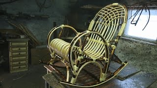 Сделано в Кузбассе HD: Создание плетеного кресла