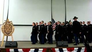 Echo Company 787 Military Police BN - 4th Platoon Cadence