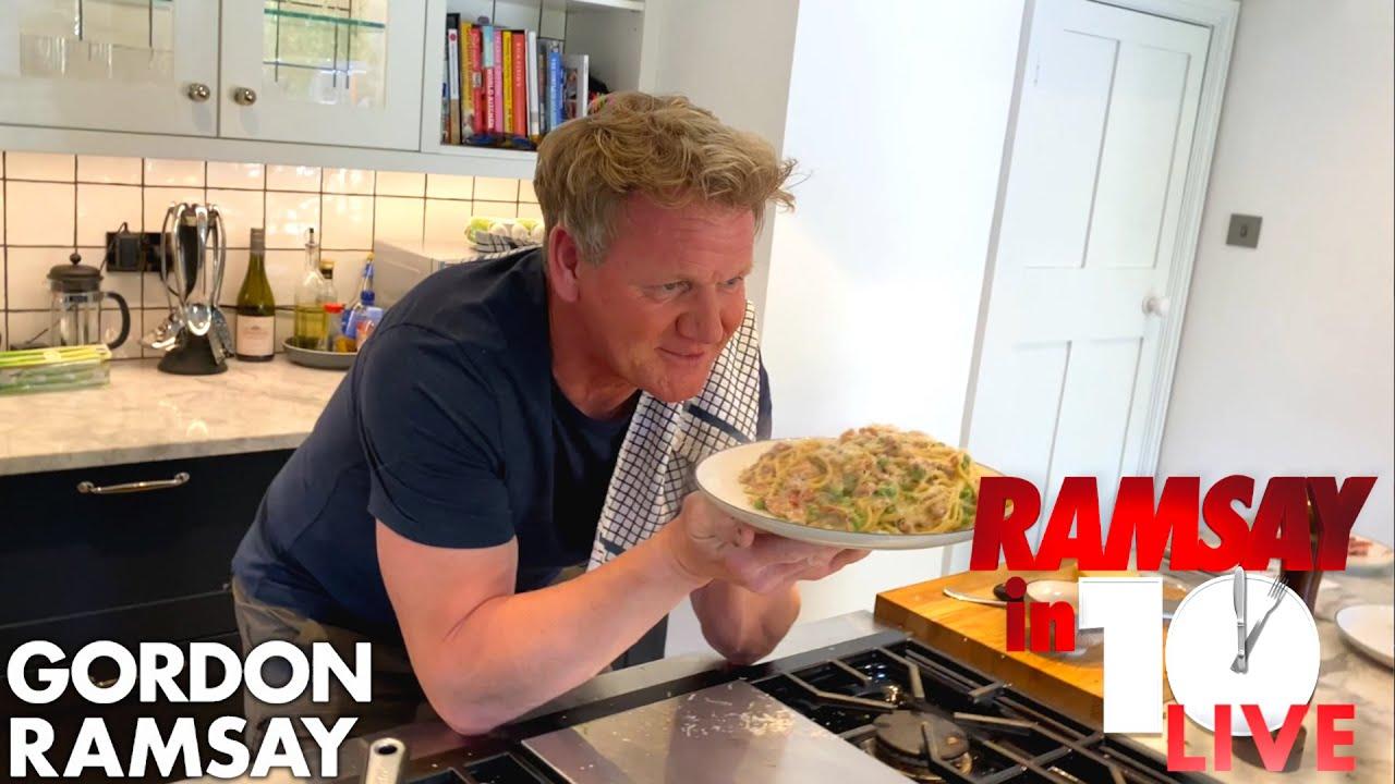 Download Gordon Ramsay Cooks Carbonara in Under 10 Minutes   Ramsay in 10