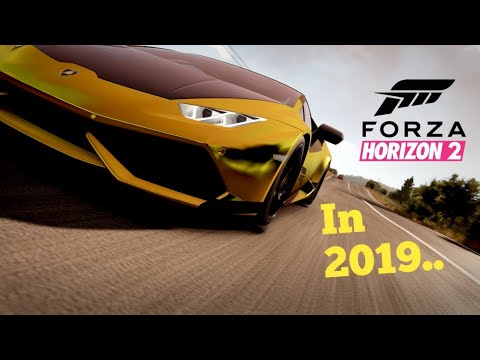 Playing Forza Horizon 2 in 2019