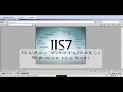 Web Server - IIS SERVER ( İnternet Information Server )  Adem ÖCÜT ( MCP - MCSA )